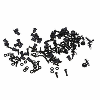 $35.79 • Buy For Kawasaki ZX6R ZX10R Motor Complete Fairing Bolts Kit Bodywork Screws Nuts