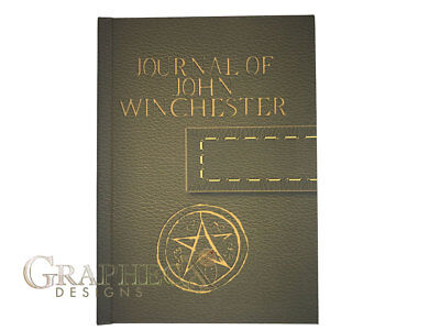 £12.87 • Buy Supernatural John Winchester Journal Inspired Personalized Hardcover Notebook