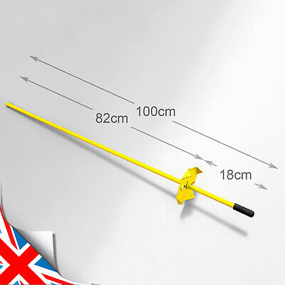 £26.99 • Buy Lacme 3ft Tall Solid Metal Fence Post Pins/Stakes Quantity Choice - Piquet UK