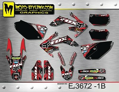 $146.92 • Buy Honda CRf250X CRf 250X  2004 Up To 2015 Graphics Decals Kit  Moto-StyleMX