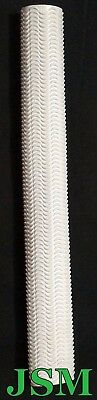 AU23.95 • Buy 2, 4 Or 10 WHITE RIPPLE Cricket Bat Grips - PURE WHITE + FREE POSTAGE