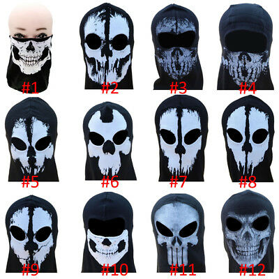 Call Of Duty 10 Cod Ghost Balaclava Logan Full Face Skull Mask