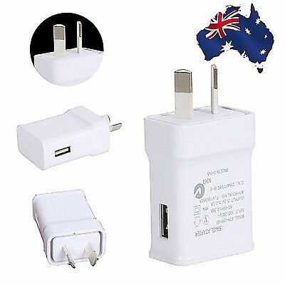 AU9.99 • Buy Fast Universal Travel 5V 2A USB AC Wall Charger Power Adapter For Samsung Huawei