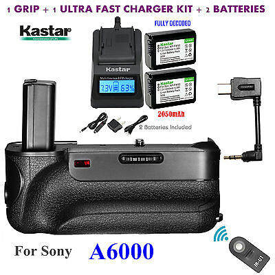 $ CDN133.31 • Buy Battery Grip, NP-FW50 Battery, Charger For Sony ILCE-A6000  A6000 Digital SLR