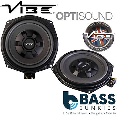 Vibe BMW8-V4 BMW 1 Series (F20/21) 8  Underseat Factory Fit Car Subwoofers PAIR • 169.95£