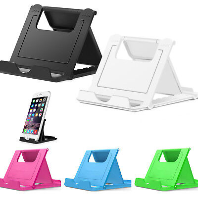 $5.49 • Buy Universal Foldable Cell Phone Desk Stand Holder Mount Cradle For Phone Tablet US