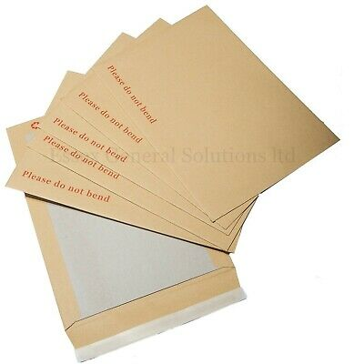 £1.29 • Buy Please Do Not Bend Hard Card Board Backed Manilla Envelopes Brown A3 /a4 /a5 /a6