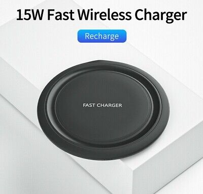 $ CDN10.43 • Buy Fast Qi Wireless Charger Charging Pad For Samsung Apple IPhone Xs Xr S8 S9 S10