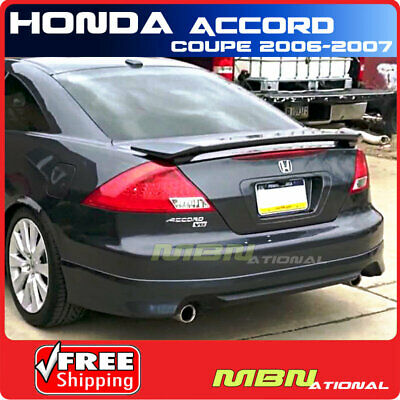 $ CDN158.13 • Buy 06-07 For Honda Accord Coupe Rear Trunk Spoiler Painted B92P NIGHTHAWK BLACK