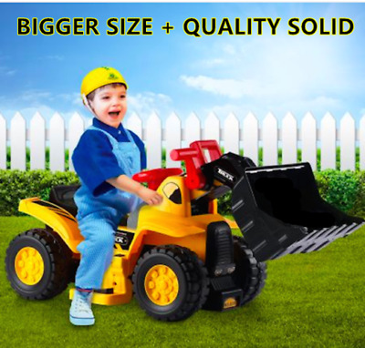 AU99.95 • Buy Big Electronic Ride On Bulldozer Tractor Construction Truck Vehicle Car Kids Toy