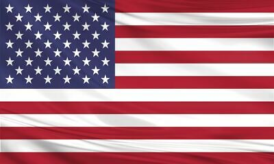 United States Of America USA Fabric Polyester Large Flag 3ftx5ft Stars & Stripes • 3.99£
