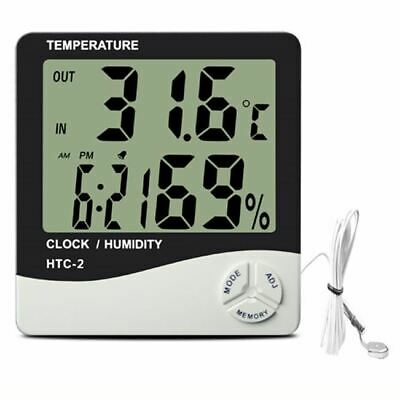 Plug And Grow Thermometer Min Max Hygrometer Grow Room Hydroponics With Probe Uk • 8.49£