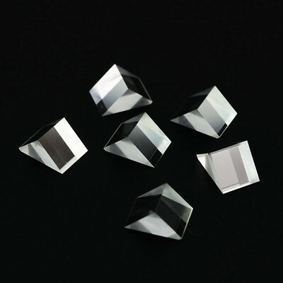 $6.29 • Buy 6PCS 11.5X10.5X15mm Right Angle Triangular Prism For Physics Science Teaching
