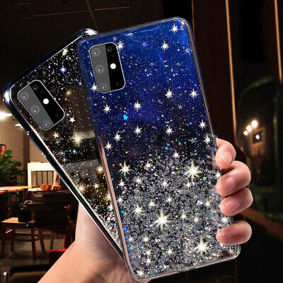 $ CDN3.87 • Buy For Samsung Galaxy S20 S10 S9/8 A51 A71 Shockproof Bling Glitter Soft Case Cover