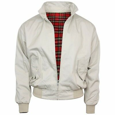 Relco Beige Harrington Jacket Skin Mod Scooter Ska Northern Soul XS - XXXL • 34.99£
