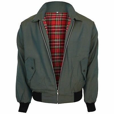 Relco Tonic Green Harrington Jacket Skin Mod Scooter Ska Northern Soul XS - XXXL • 39.99£