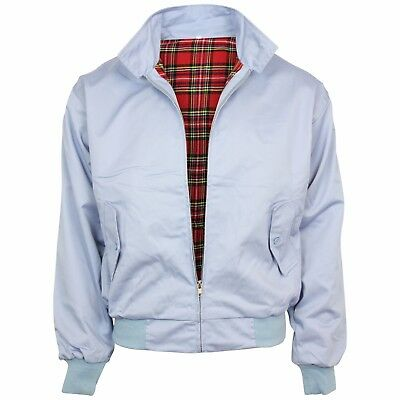 Relco Sky Blue Harrington Jacket Skin Mod Scooter Ska Northern Soul XS - XXXL • 34.99£