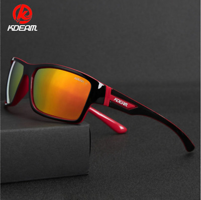 AU12.96 • Buy KDEAM Mens Polarized Sunglasses Sport Outdoor Criving Cycling UV400 Glasses New