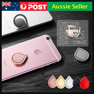 AU5.99 • Buy Metal Phone Smart Ring Holder Grip Socket Stand Dock Magnetic Mount Pop Bracket