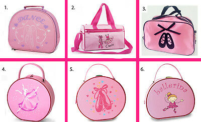 Pink Dance Bags! Satin, Ballet Shoes, Vanity Case & Holdalls. Birthday Present • 14.99£