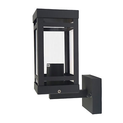 Traditional Lantern Black Outdoor Single Wall Light IP44 Outdoor Garden  • 17.99£
