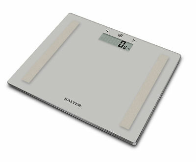 £14.99 • Buy Salter 9113 Compact Glass Body Analyser Scale, Grey