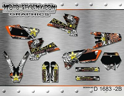 $147.26 • Buy KTM SX SXf 125 250 450 525 2003 Up To 2004 Graphics Decals Kit Moto-StyleMX