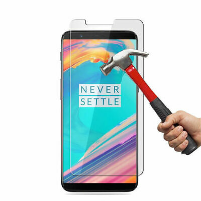 AU3.49 • Buy For OnePlus 5T/5  Full Coverage 9H Tempered Glass Film Screen Protector Lot