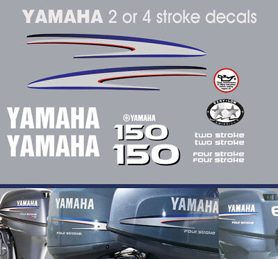AU110 • Buy YAMAHA 150hp 2 Stroke And 4 Stroke Outboard Decals