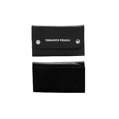Genuine Real Leather Tobacco Pouch Tabacco Pocket Pouch/ Rizla, Bag,Holder  Case • 7.99£