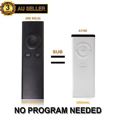 AU12.79 • Buy New Replacement Universal Infrared Remote Fit For Apple TV2 / TV3 (A1156)