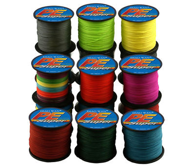 AU6.84 • Buy 300M PE Braided 4 Strands Super Strong Testing Spectra Extreme Sea Fishing Line