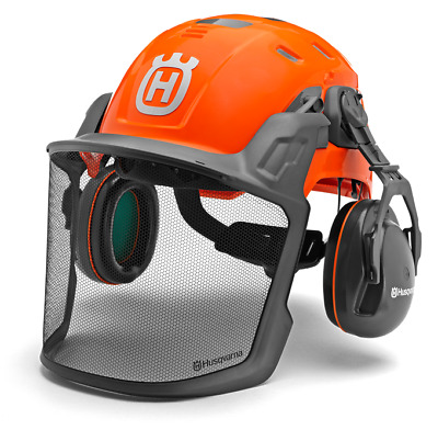 £95.25 • Buy Husqvarna Technical Forest Helmet Lightweight Vented Professional ANSI Chainsaw