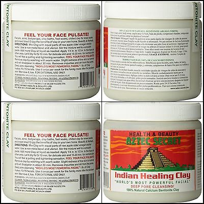 AU24.23 • Buy Aztec Secret Indian Healing Clay Bentonite Facial Deep Pore Clean 100% Pure 1lb