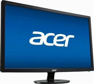 View Details Acer 27  Widescreen LED Monitor Full HD 60Hz 4ms | S271HL Gbidx • 99.99$
