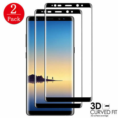 $ CDN6.17 • Buy 2X For Samsung Galaxy Note 8 3D Full Curved Screen Protector Tempered Glass  ^^