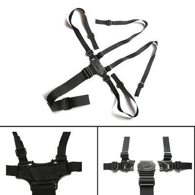 £4.99 • Buy Universal Kids 5 Point Harness Safety Belt Seat Strap For Stroller High Chair UK