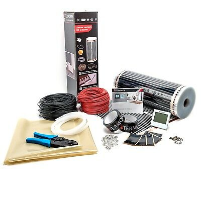 Underfloor Heating Wire Complete Kit Far Infrared Carbon Electric Laminate 4m² • 179.80£