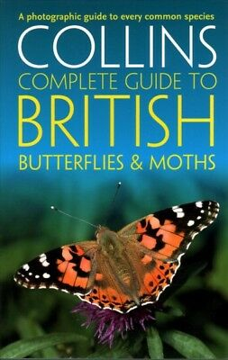 £14.50 • Buy Collins Complete Guide To British Butterflies & Moths, Paperback By Sterry, P...