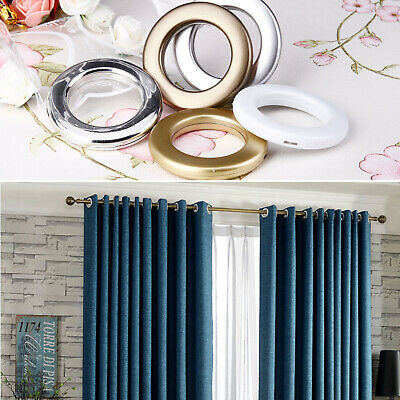 20x Eyelet Curtain Rings Curtains Blinds Accessories Silver Gold Coffee White • 12.48£