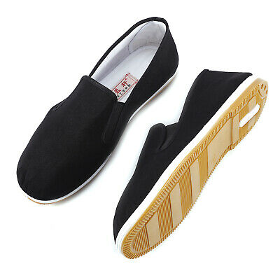 £8.69 • Buy Kung Fu Shoes Slippers Dancing Tai Chi Shoes Rubber Sole Junior & Adults