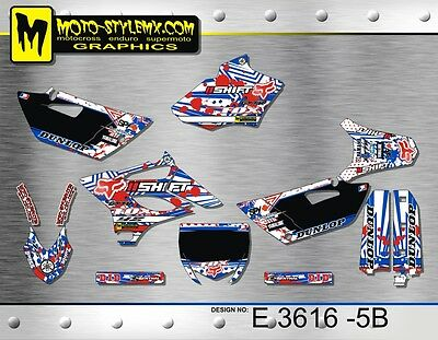 AU139.90 • Buy Yamaha YZ 85 2015 Up To 2018 Graphics Decals Kit Moto StyleMX