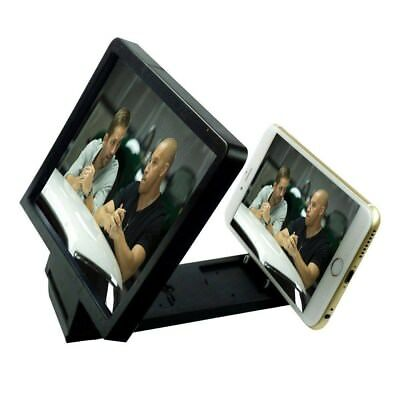 MOVIE SCREEN ENLARGER MAGNIFIER STAND PROJECTOR For IPhone Samsung SONY HTC LG • 2.99£