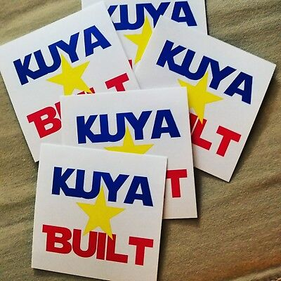 Philippine Filipino Pinoy Pinay Decal Sticker for Car Window Laptop #1008