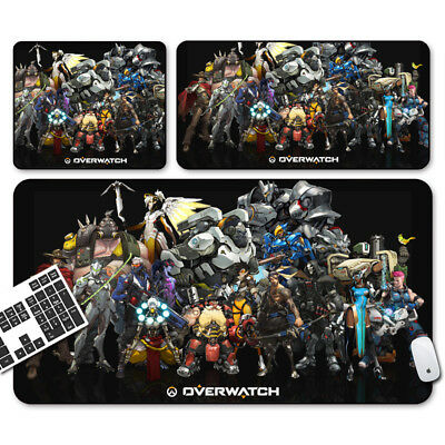 AU16.99 • Buy Large Mouse Pad Extended Anti-slip Rubber Gaming Mousepad Desk Mat For Overwatch