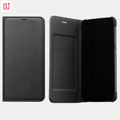 AU36.46 • Buy For OnePlus 5t 6t 100% Original Official Smart Wake UP Flip Leather Cover Case