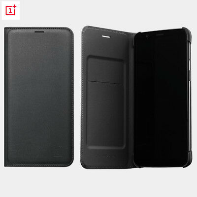 AU36.03 • Buy For OnePlus 5t 6t 5 100% Original Official Smart Wake UP Flip Leather Cover Case