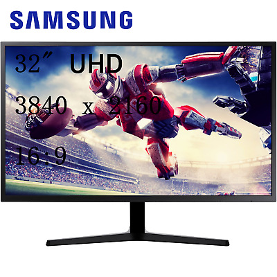 AU599 • Buy Samsung 32  4K LU32J590UQE UHD VA FreeSync Gaming Monitor 3840x2160 HDMI