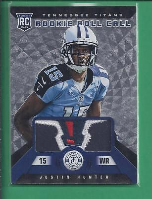 $14.40 • Buy *2013 Totally Certified Rookie Patch Sweet! #18/25 JUSTIN HUNTER  No.16 Titans