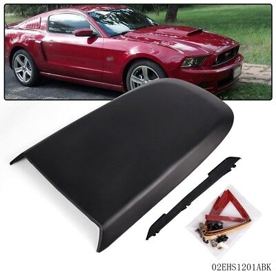 $26.10 • Buy For Ford Mustang GT V8 2005-2009 Black Front Racing Style Air Vent Hood Scoop